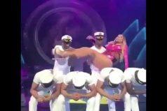 ¡Qué pereza! La flojera de Mariah Carey en una presentación en Las Vegas se hace viral. ¿Dónde dejó la chispa?