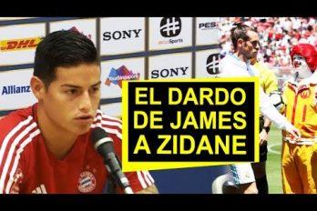 La 'puya' de James a Zidane y el porqué decidió llegar al Bayern Múnich. ¡Todo nuestro apoyo para el colombiano!
