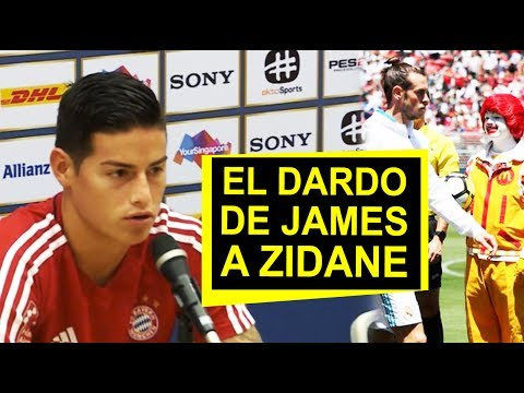 """El-mensaje-de-James-a-Zidane-""""Ronald-McDonald-se-coló-en-el-Real-Madrid-"""