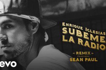 ¿Te encanta 'Súbeme la radio'? Disfruta la versión a dúo de Enrique Iglesias… ¡Con Sean Paul!