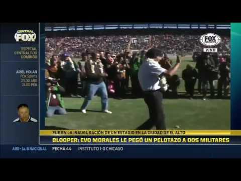 Evo-Morales-pegó-un-pelotazo-a-dos-militares