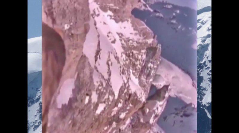 GoPro-colocada-en-águila-en-Los-Alpes-Europa