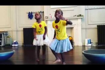 ¡Qué lindas! Las hijas adoptivas de Madonna bailan, cantan y se gozan… ¡El 'Waka Waka' de Shakira!