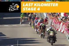 ¡Final de impacto en la etapa 4 del Tour! Un codazo de Sagan dejó a Cavendish y otros dos ciclistas en el suelo