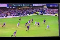 ¡14 años después! Se viraliza curiosa jugada entre el City y el QPR. ¡Ningún jugador dio pie con bola, literalmente!
