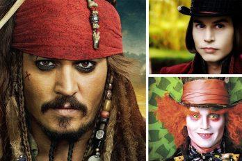 Los 7 personajes de Jhonny Deep que marcaron historia ¿los recuerdas?