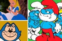 Los 8 personajes de azul que marcaron nuestra infancia, ¿los recuerdas?