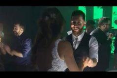 ¡Qué swing! Así baila Messi con su esposa, Antonella, durante la boda. ¿En la pista de baile le irá tan bien como en la cancha?