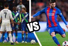 ¿Quién cobra los mejores tiros libres: Messi o CR7? Disfruta con los increíbles goles de falta de estos cracks