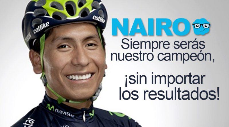 El mensaje que puede hacer que Nairo gane el Tour de Francia