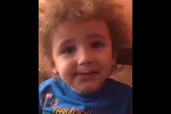 ¡Demasiado tierno! El pequeño 'pibe' que quiere cortarse el pelo… ¡Para que no le sigan diciendo 'Valdemama'!