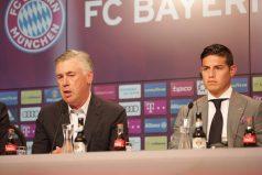 ¡Carlo Ancelotti sí quiere a James! Así se expresó del colombiano en su bienvenida a Múnich