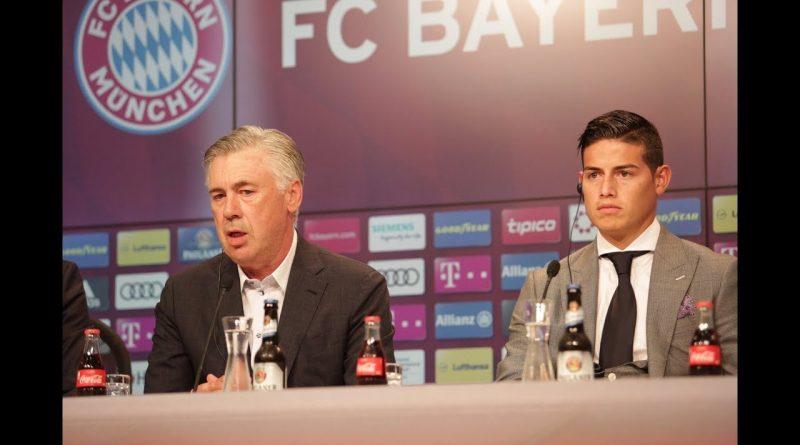 OFICIAL-Bayern-Munich-presentó-a-JAMES-RODRÍGUREZ-con-bombos-y-platillos-Elogios-de-ANCELOTTI