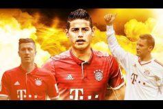 El Bayern completa un equipazo para esta temporada. ¡Conoce a los nuevos compañeros de James Rodríguez!