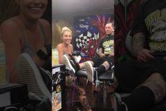 ¡Wow! Te sorprenderá la arriesgada manera en la que este tatuador le propuso matrimonio a su novia. ¿Diría que sí?