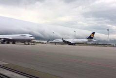 ¡Impresionante! Una sorprendente nube cubre el aeropuerto de Múnich. ¡Era gigantesca!