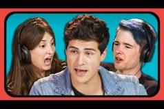 La reacción de youtubers americanos a las canciones de 'Tongo'. ¡No saben si canta en inglés o español! ¡Nosotros tampoco!