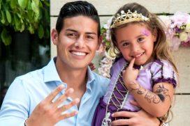 James sigue muy pendiente de su hija, ¡gran padre!