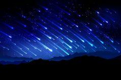 ¿Listo para ver la lluvia de estrellas? Te contamos todos los detalles