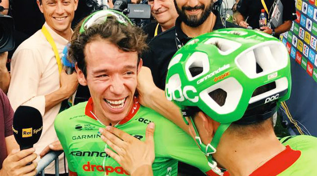 ¡GRANDE RIGO! Se metió al pódium del Tour de Francia