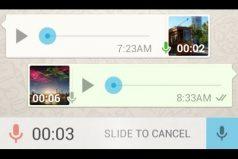 Por imprudentes o molestas no a todos les gustan las notas de voz de WhatsApp. ¡Esta app las convierte en texto!