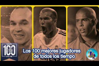 ¿Cuáles son los mejores 100 futbolistas de la historia? Este es el ranking, según la revista Four Four Two