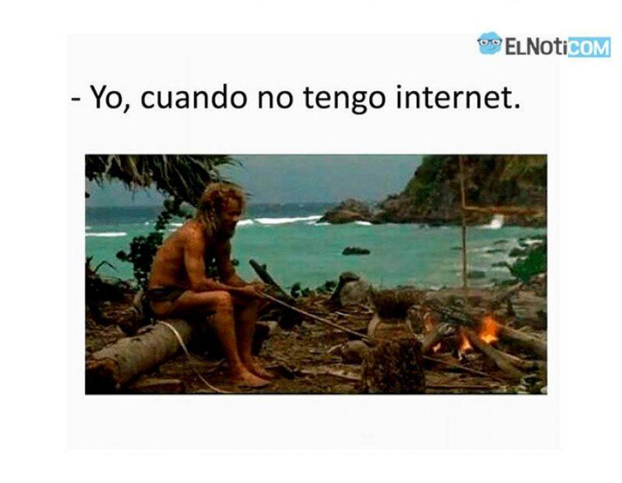 Yo cuando no tengo Internet