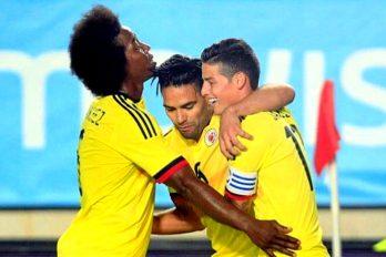 Selección Colombia llevó la fiesta a la frontera ¿Cómo será si regresan ganadores?