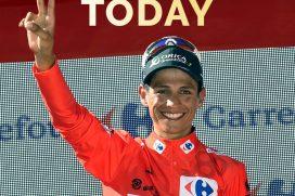 Chaves peleó la victoria de etapa, ¡aunque ganes o pierdas Colombia te apoya!