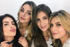 ¿Qué estarán tramando Jessica Cediel, Laura Tobón, Melina Ramírez y Greeicy Rendón?