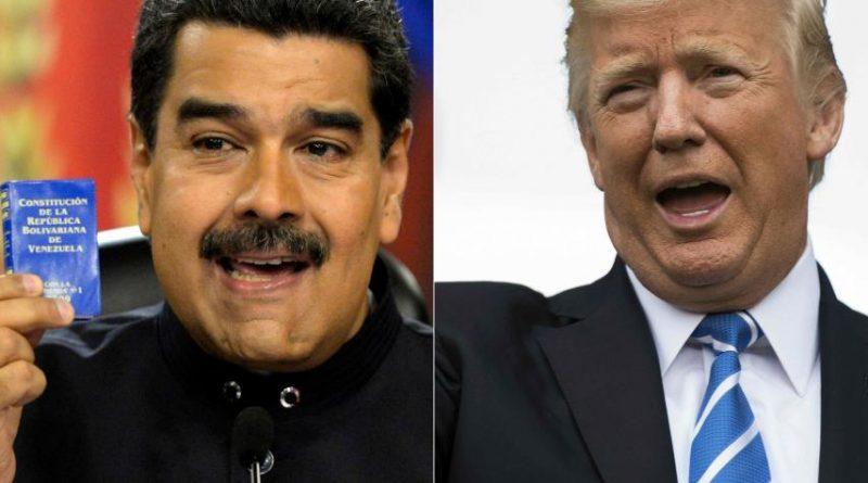 Maduro y Donald Trump