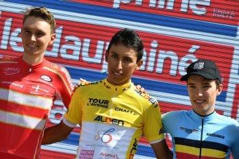 Egan Bernal es el campeón del Tour de l'Avenir, ¡GRACIAS por llevar el nombre de Colombia en ALTO!