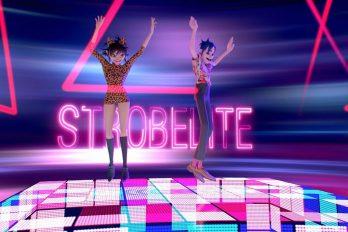 'Strobelite' el nuevo sencillo de Gorillaz que te hará sentir de fiesta. ¡No te lo pierdas!