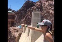 Realidad que supera la ficción: en la Presa Hoover (Estados Unidos), el agua cae… ¿hacia arriba? ¡Impresionante efecto!