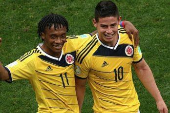 James Rodríguez le da la bienvenida a 'Cuadrado' al Bayern, ¡muuuy divertido!