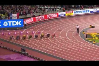 ¡Adiós Usain Bolt! En su carrera de despedida el 'Rey de las Pistas'… ¡Llegó tercero!