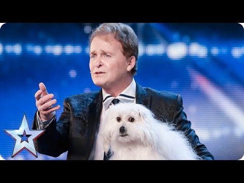 Marc-Métral-and-his-talking-dog-Wendy-wow-the-judges-Audition-Week-1-Britains-Got-Talent-2015