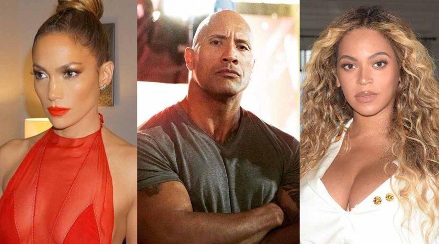 ¿Sabías que Jennifer López, La 'Roca' y Beyoncé tienen esto en común?