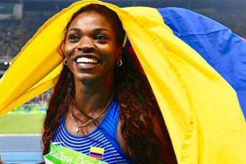 Caterine Ibargüen ganó plata en el Mundial de Atletismo