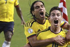 Los hinchas colombianos se hicieron sentir en Venezuela. ¡Somos un solo corazón!