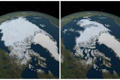 La NASA muestra como sufre la tierra por el cambio climático