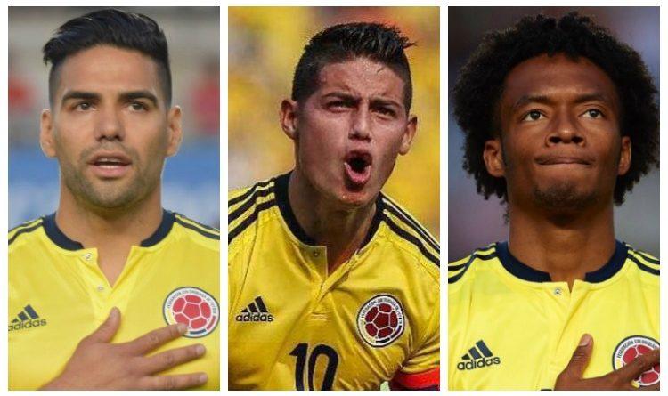 Nuestros jugadores ya están en modo #SelecciónColombia