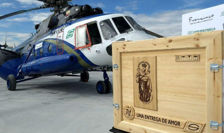 Así será la logística del traslado de la virgen de Chiquinquirá por la visita del Papa Francisco