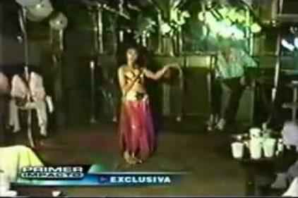 Así bailaba y cantaba Shakira a los 11 años. Mira todo el talento que luego la llevo a la fama