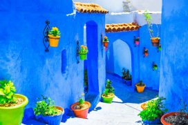 """El """"reino azul"""" que te acerca al cielo"""