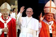 Las diferencias en la vestimenta del Papa Francisco son más de las que ves ¡Admirable!