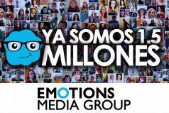 El portal emocional más grande de Colombia sigue creciendo. ¡Somos 1.5 millones de amigos!