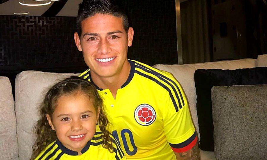 James Rodríguez tiene otra bebé en la familia ¡Está feliz con la noticia!