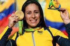 Oro para Mariana Pajón, la 'reina' del BMX volvió a conquistar