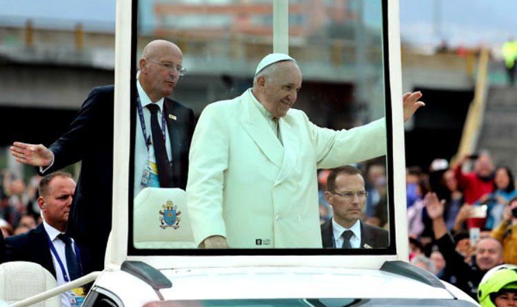 El ángel de la guarda de los Papas ¡Parece de película!